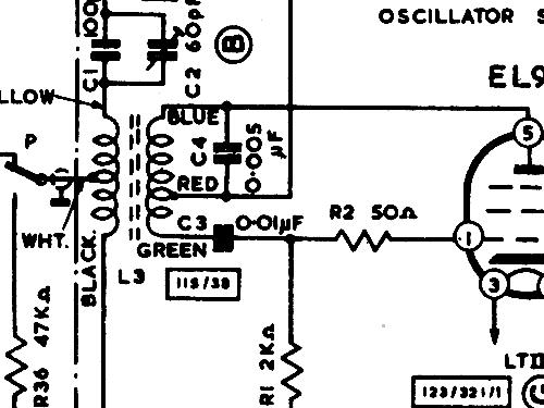 TK30 R-Player Grundig Ltd., London, build 1960 ??, 7 schemat