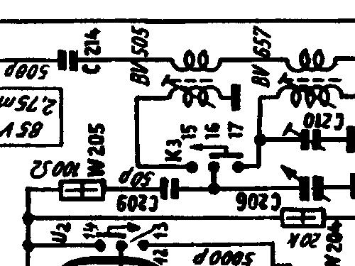 Standard Syntektor Chassis 621W Ch= AD2-349i Radio Körting-R