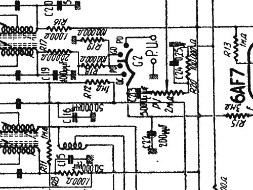 710 Radio Lemouzy; Paris, build 1939, 2 schematics, 7 tubes,