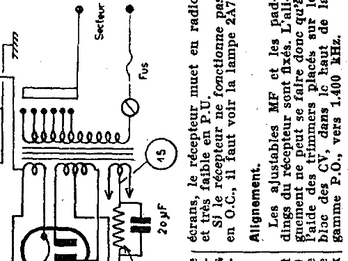 E56 Radio Lemouzy; Paris, build 1934, 1 schematics, 6 tubes,