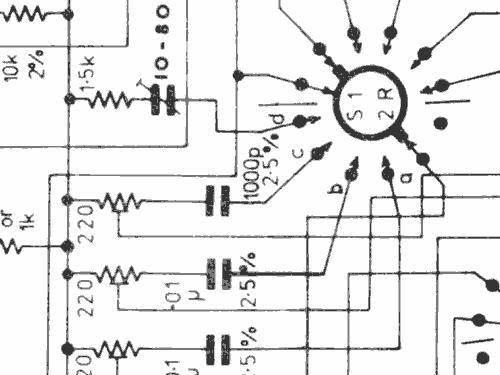 R.C. Oscillator TG152D Equipment Levell Electronics Ltd ; Ba
