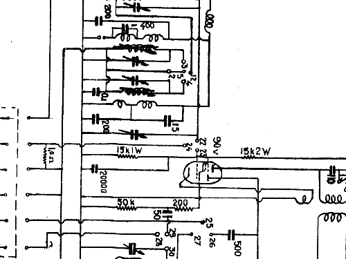 M28W Radio Luxor Radio AB; Motala, build 1945 ?, 1 schematic