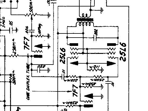 7C75 Ch= 435 Radio Majestic Radio & Television Co.,post 1932