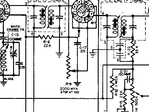 9MF Ford #8A-18805-A3 Car Radio Motorola Inc.; Schaumburg IL