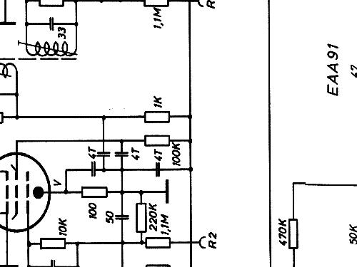 UKW-Einbausuper 12642/59 Z-Sdfg-C 52-68 MHz Radio Nogoton,