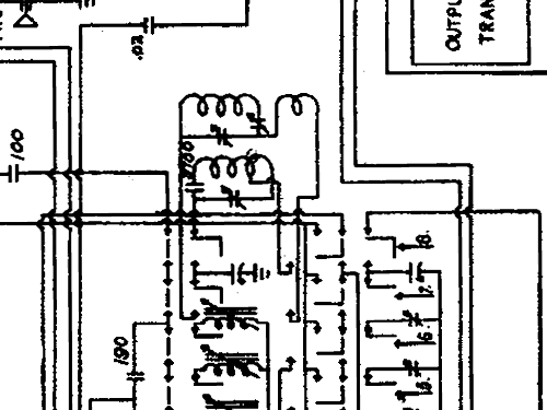 130PR Radio Packard Bell Co.; Los Angeles CA, build 1941