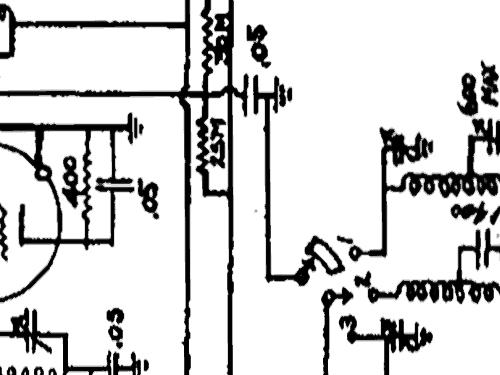 48B Radio Packard Bell Co.; Los Angeles CA, build 1938, 1 sc