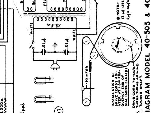 40-503P Radio-Phonograph Radio Philco, Philadelphia Stg. Bat