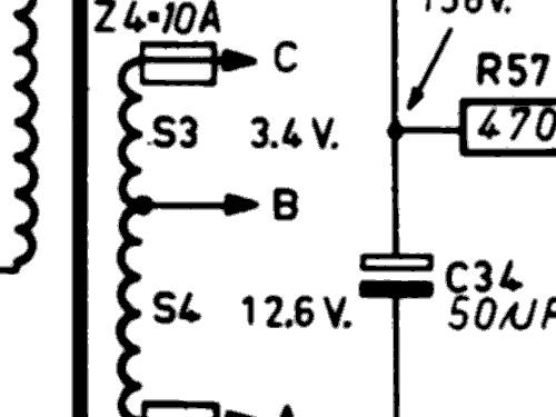 Bi-Ampli AG9008 Ampl/Mixer Philips; Eindhoven tubes internat