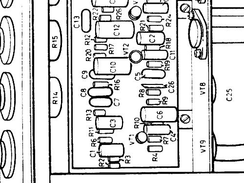 HSF30T Ampl/Mixer Pye Ltd., Radio Works; Cambridge, build 19