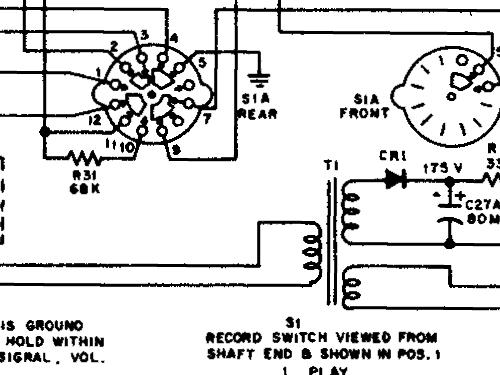 1-YC-11 Ch= RS-196 + TCT-3A R-Player RCA RCA Victor Co.