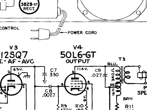 1X51 Ch= RC 1104D Radio RCA RCA Victor Co. Inc.; New York NY