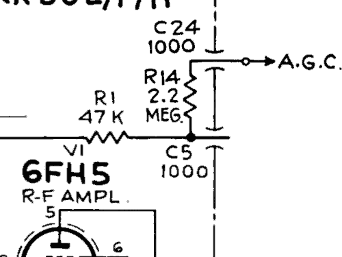 211-CDR-935U Ch= CTC10F, CTP7B Television RCA RCA Victor Co.