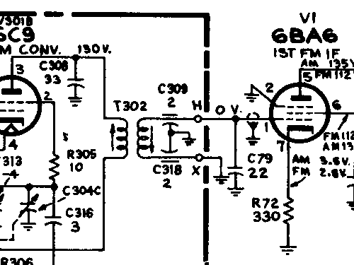 3VF349 Ch= RC-1205C + RS-199B Radio RCA RCA Victor Co.