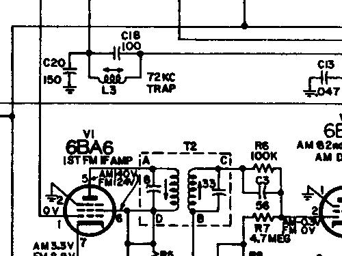 4VF304 Ch= RC-1211A + RS-199C / RS-177J Radio RCA RCA Victor