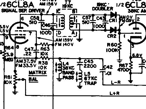 4VF534 Ch= RC-1211A + RS-199C / RS-177J Radio RCA RCA Victor