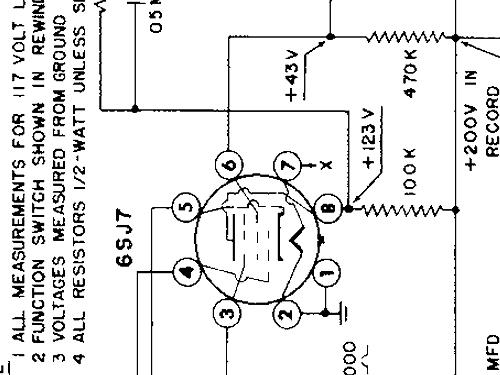 TS300 tube 6J7 R-Player Revere Camera Co.; Chicago IL, build