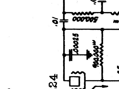 Silvertone 1456 Ch= 109 or knobs straight Radio Sears, Roebu