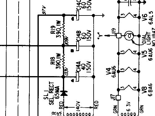 Silvertone 2077 Ch= 528.53580 Radio Sears, Roebuck & Co.