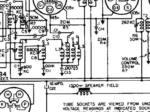 Silvertone 4584 Radio Sears, Roebuck & Co.; Chicago IL, buil