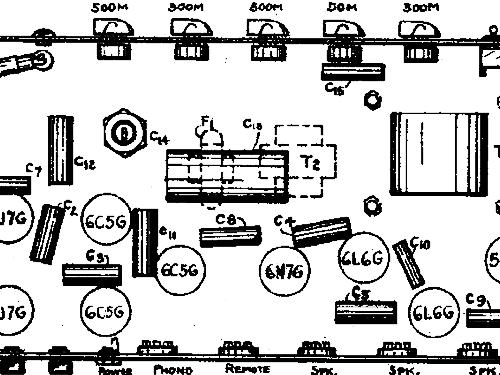Silvertone 8941 Ch= 138.180 Ampl/Mixer Sears, Roebuck & Co.
