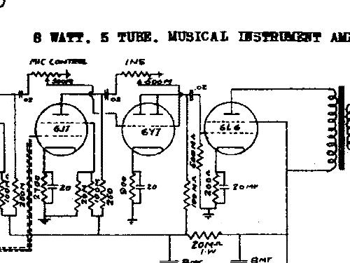 Silvertone 8960 Ch= 138.140 138.14 Ampl/Mixer Sears, Roebuck