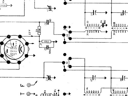 SM533 Radio Siemens Italia; Milano, build 1953 ??, 7 schemat