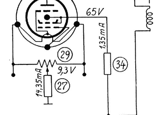 Junior 512WL ohne Tonabnehmerbuchsen Radio Telefunken