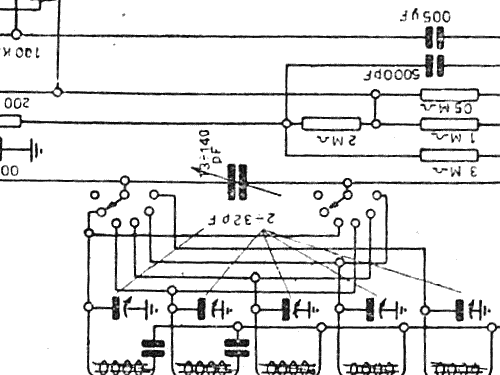 T8-RF Radio Telefunken Italia, Milano, build 1947 ?, 2 schem
