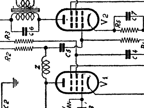 Mignolette Radio Watt Radio; Torino, build 1935 ??, 2 schema