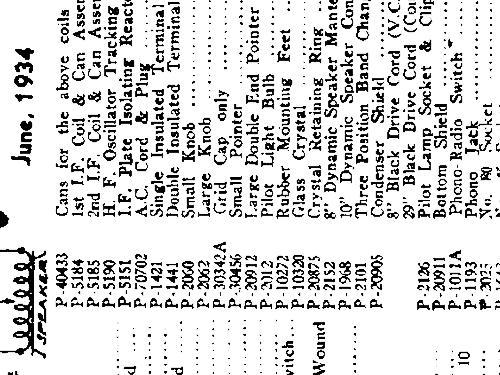 D727 Truetone early Console Radio Western Auto Supply