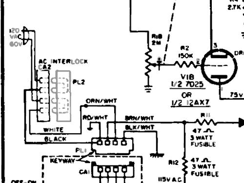 H-79ACS1B Ch= V-2522-1 R-Player Westinghouse El. & Mfg. Co.