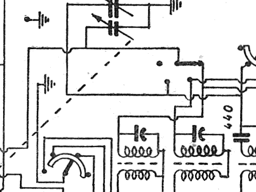 Z632 Radio Radio Zenit; Milano, build 1949 ??, 1 schematics,