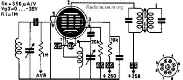 14Q7, Tube 14Q7; Röhre 14Q7 ID2645, Pentagrid-Converter (Hep
