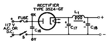 35Z4GT, Tube 35Z4GT; Röhre 35Z4GT ID3236, Half-Wave Vacuum R