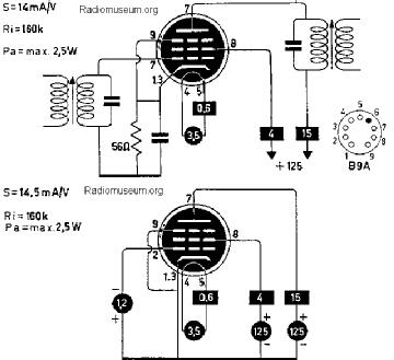 3JD6, Tube 3JD6; Röhre 3JD6 ID4389, Vacuum Pentode