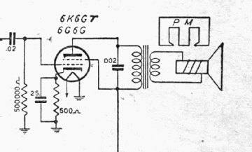 6G6G, Tube 6G6G; Röhre 6G6G ID3251, Vacuum Pentode
