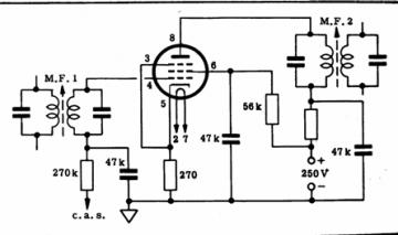 6SK7GT, Tube 6SK7GT; Röhre 6SK7GT ID2719, Vacuum Pentode