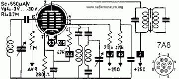 7A8, Tube 7A8; Röhre 7A8 ID2725, OCTODE