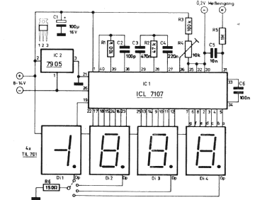 Voltmeter In Circuit Diagram Use Voltmeter In Diagram