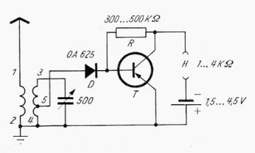 OA 625, Tube OA625; Röhre OA 625 ID35155, Solid-State-Diode