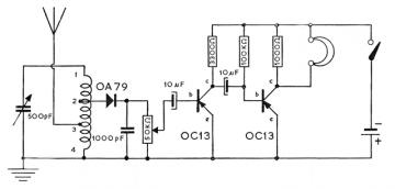 OC 13, Tube OC13; Röhre OC 13 ID35834, Transistor