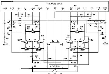 STK 3042, Tube STK3042; Röhre STK 3042 ID64431, SEMICONDUCTO