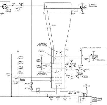 T 4530, Tube T4530; Röhre T 4530 ID42510, Oscilloscope CRT,