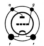 6A3, Tube 6A3; Röhre 6A3 ID2686, Triode, vacuum