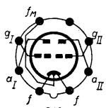 3B7, Tube 3B7; Röhre 3B7 ID4297, Double Triode