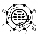 3D6, Tube 3D6; Röhre 3D6 ID4344, Vacuum Pentode