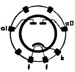 EZ 3, Tube EZ3; Röhre EZ 3 ID1395, Full-Wave Vacuum Rectifie