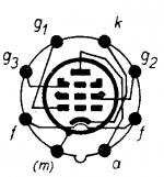 6AC7, Tube 6AC7; Röhre 6AC7 ID2684, Vacuum Pentode