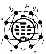 6J7, Tube 6J7; Röhre 6J7 ID2098, Vacuum Pentode